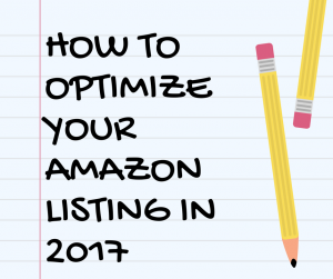 How to Optimize Your Amazon Listing to Increase Sales with Amazon SEO in 2017