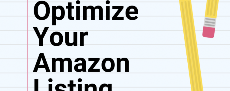 Optimize Amazon FBA Listing
